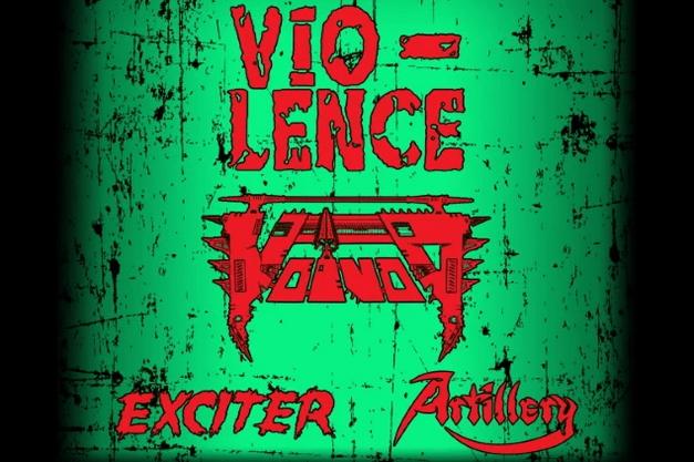 VIO-LENCE, VOIVOD, EXCITER e ARTILLERY: tour europeo per l'MTV Headbanger's Ball 2021