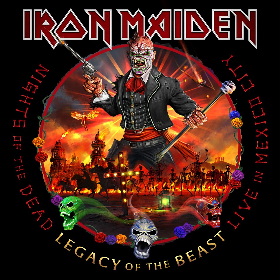 "IRON MAIDEN: a novembre il nuovo ""Nights Of The Dead, Legacy Of The Beast: Live In Mexico City"""