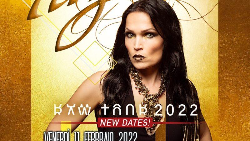TARJA TURUNEN: il tour europeo è spostato al 2022