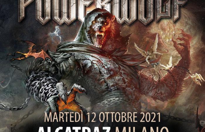 POWERWOLF: torneranno in Italia nel 2021