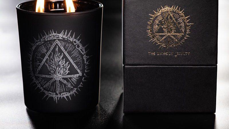 BEHEMOTH: le loro candele al profumo di cannabis, oppio e mirra