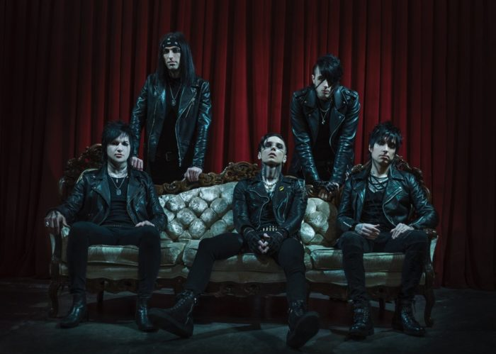BLACK VEIL BRIDES: uno show in streaming a dicembre