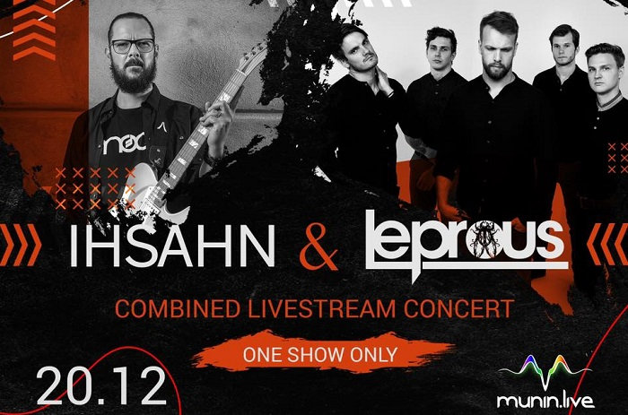IHSAHN e i LEPROUS terranno uno show in live streaming insieme
