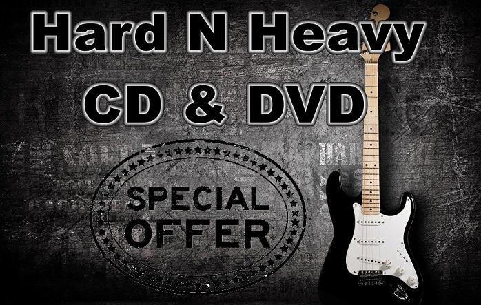 Le offerte speciali su Cd e DvD Hard N' Heavy selezionate per voi!
