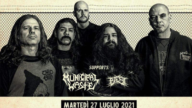 PHILIP ANSELMO & The Illegals: in Italia con la set-list dedicata ai PANTERA