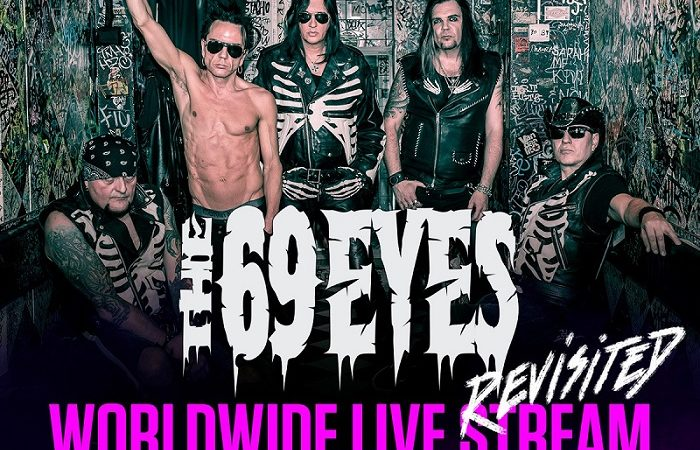 THE 69 EYES: disponibile on demand il Worldwide Live Stream Revisited