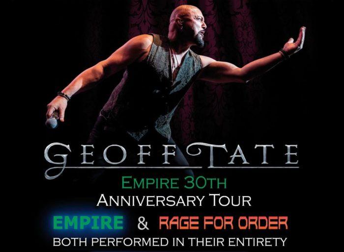 """GEOFF TATE deve rimandare il tour di """"Empire"""" e """"Rage For Order"""" dei QUEENSRŸCHE"""