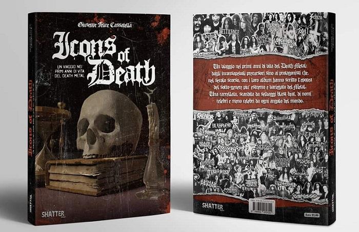 'Icons Of Death', un viaggio nei primi anni di vita del Death Metal. Un libro di Giuseppe Felice Cassatella