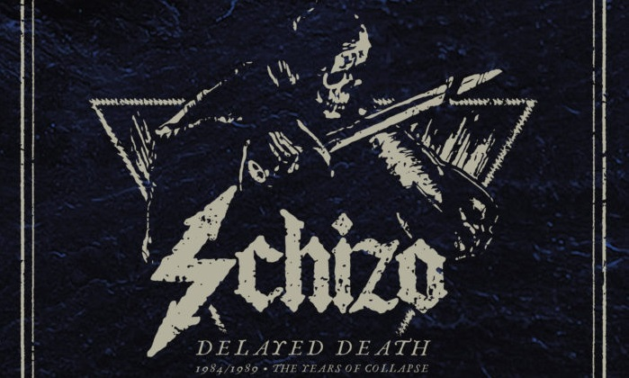SCHIZO: è in uscita 'Delayed Death – 1984/1989 The years of collapse'