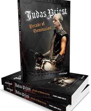 JUDAS PRIEST: il nuovo libro 'Judas Priest: Decade Of Domination' uscirà a giugno