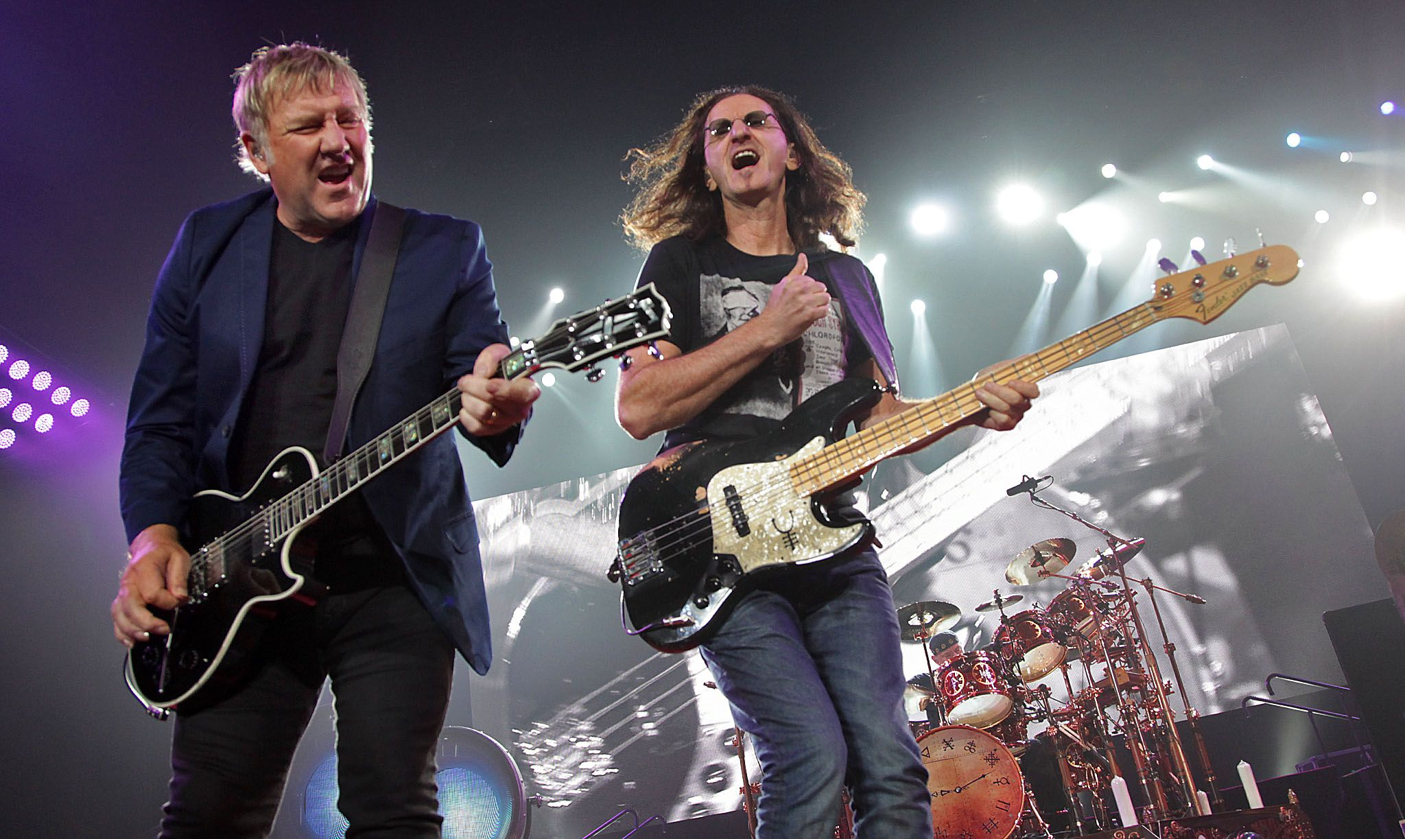 RUSH: Alex Lifeson e Geddy Lee vogliono a comporre altra musica""
