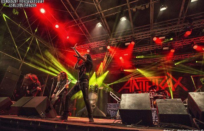 Il nuovo album degli ANTHRAX uscirà il prossimo anno