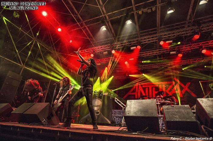 """ANTHRAX, il chitarrista Jonathan Donais: """"stiamo lavorando al nuovo album"""""""