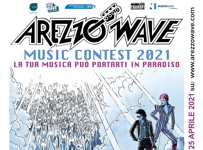 Stati Generali del Rock / Arezzo Wave Music Contest 2021: iscrizione gratuita on-line