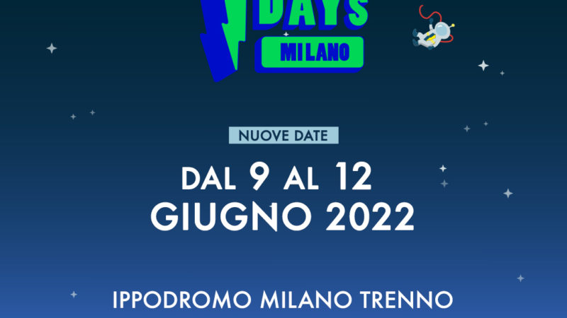 I-DAYS: rimandato al 2022 con già le nuove date