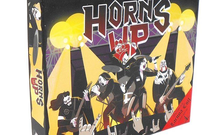 LACUNA COIL: in arrivo 'Horns Up!', il loro gioco da tavolo