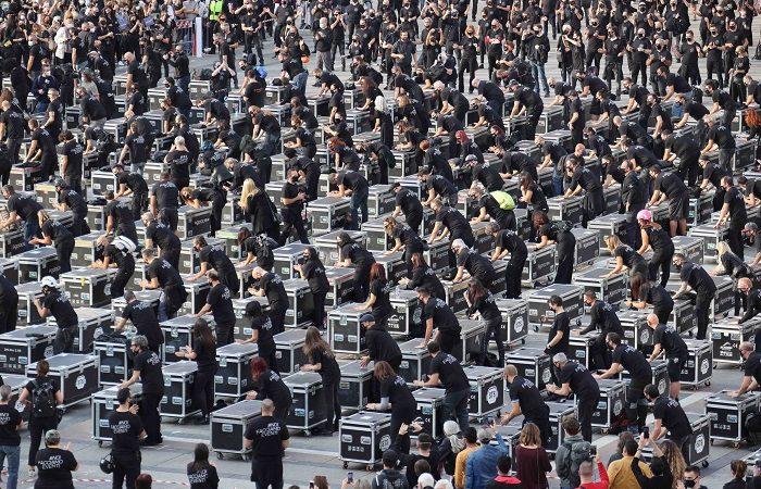 La manifestazione nazionale dei BAULI IN PIAZZA, il 17 Aprile a Roma