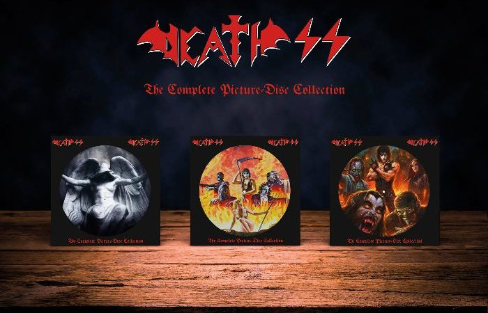 "DEATH SS: in arrivo le ristampe in picture vinyl di ""The Seventh Seal"", ""Resurrection"" e ""Rock'n'Roll Armageddon"""