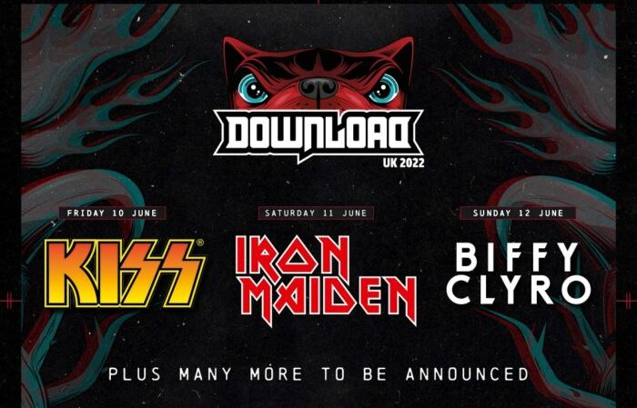 DOWNLOAD FESTIVAL rinviato al 2022. KISS, IRON MAIDEN e BIFFY CLYRO gli headliner