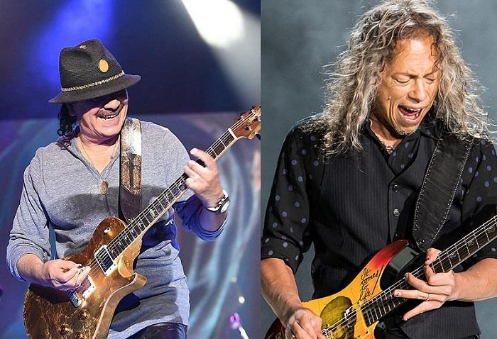 SANTANA: sul nuovo album ci sarà Kirk Hammet dei METALLICA