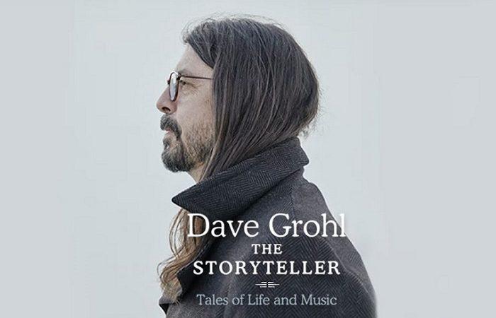 DAVE GROHL annuncia il suo primo libro, 'The Storyteller'