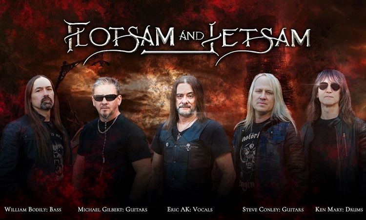 FLOTSAM AND JETSAM: il lyric video di 'Blood In The Water', dal nuovo album
