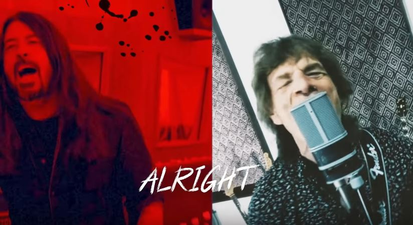 MICK JAGGER e DAVE GROHL insieme sul pezzo 'Eazy Sleazy', guarda il video