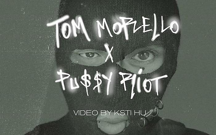 TOM MORELLO e PUSSY RIOT: il lyric video di 'Weather Strike'