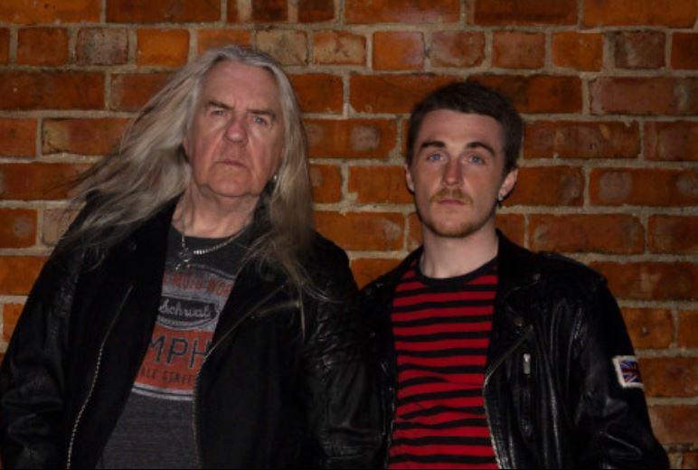 Biff Byford (SAXON) e il figlio Seb, pronti per il debut album degli HEAVY WATER