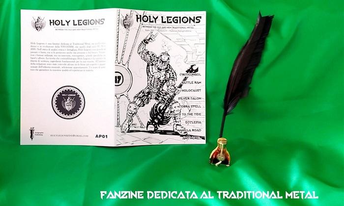 Prende vita HOLY LEGIONS, una fanzine dedicata al Traditional Metal