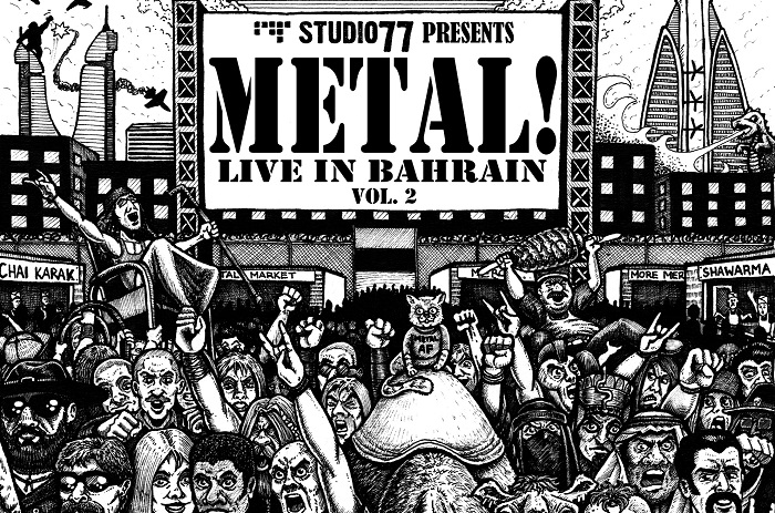 In arrivo 'Metal! Live in Bahrain Vol. 2', compilation con le metal band arabe