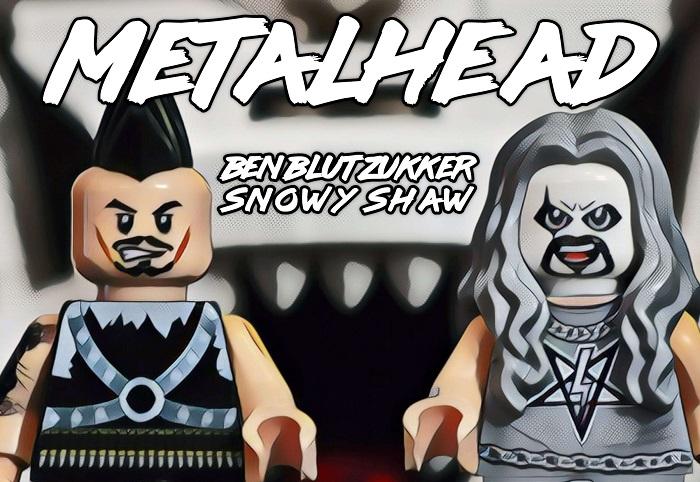 BEN BLUTZUKKER e SNOWY SHAW: il video di 'Metalhead'
