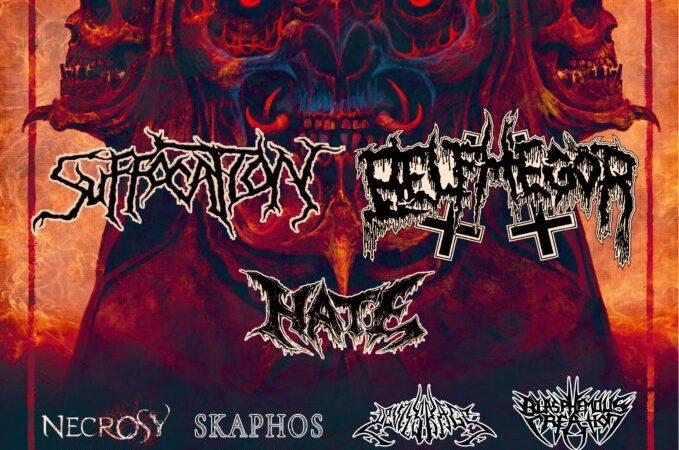 SUFFOCATION, BELPHEGOR e HATE: un tour europeo nel 2022