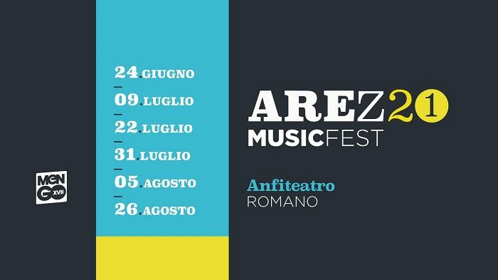 AREZZO MUSIC FEST 2021: con La Rappresentante di Lista, Negrita, Subsonica e altri