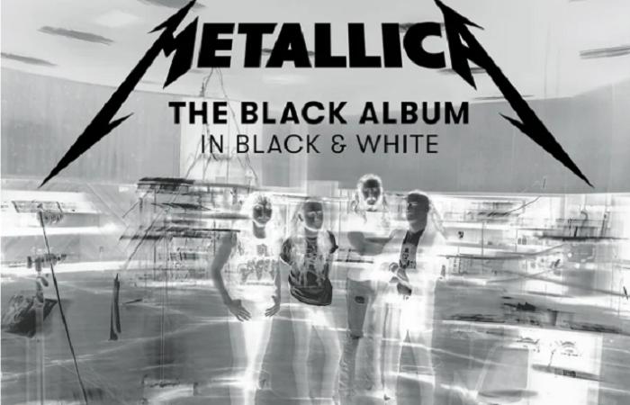 METALLICA: in arrivo il libro fotografico 'The Black Album In Black & White'