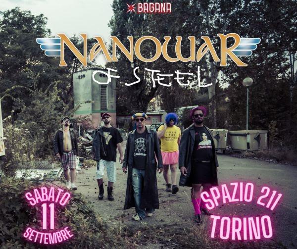 NANOWAR OF STEEL: aggiunta una data a Torino