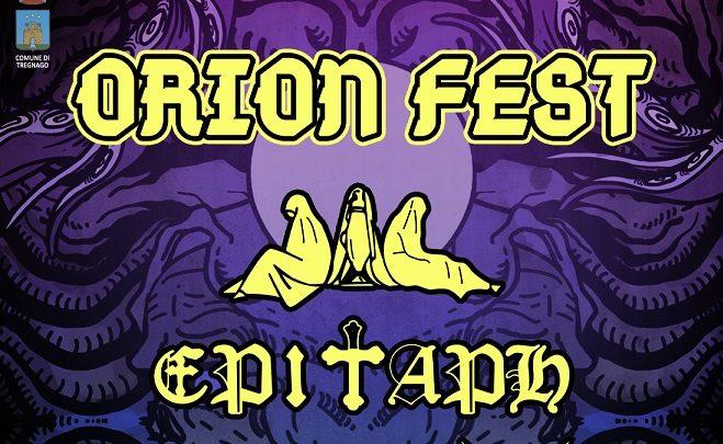 Ad agosto l'ORION FEST con EPITAPH, MEGATHERIUM e altre band a Verona