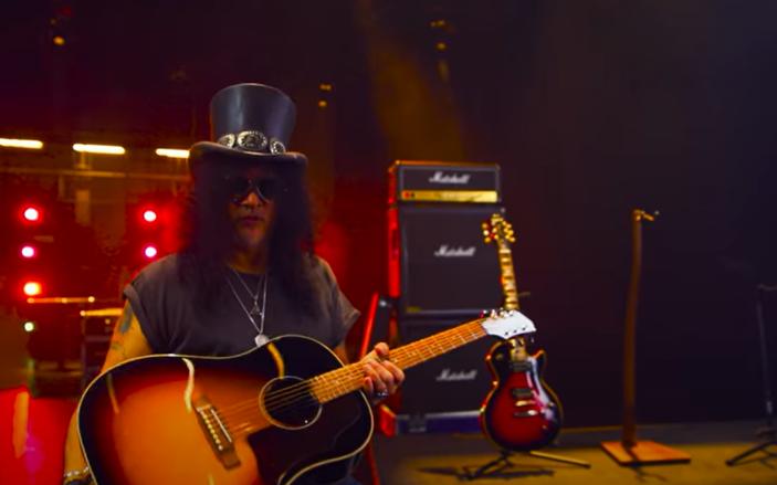 SLASH presenta la nuova serie di chitarre Epiphone Slash Collection