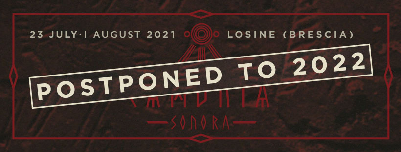 CAMUNIA SONORA: prima edizione rimandata al 2022