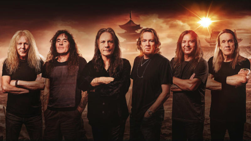 """IRON MAIDEN: in streaming il nuovo singolo """"Stratego""""!"""