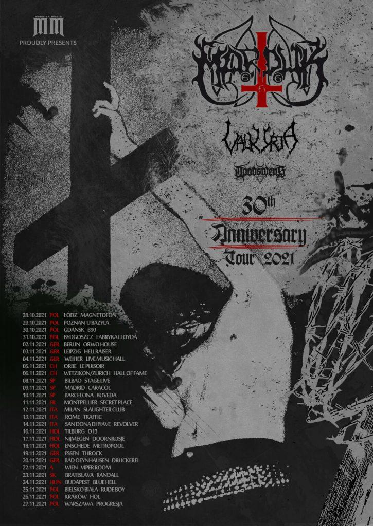 MARDUK: tre date italiane per il nuovo tour europeo