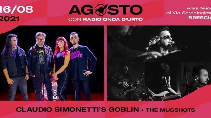 CLAUDIO SIMONETTI'S GOBLIN: una data a Brescia con i THE MUGSHOTS