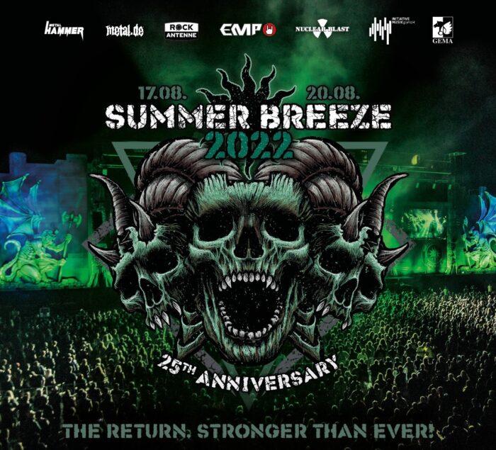 SUMMER BREEZE 2022: trailer dell'annuncio delle prime 50 band