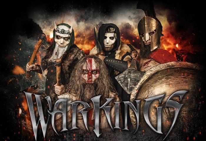 WARKINGS: guarda il video di'We Are The Fire'