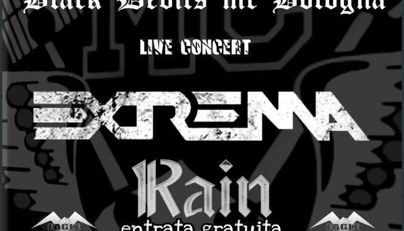 EXTREMA, RAIN: sabato 9 ottobre concerto gratuito a Bologna